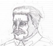 [暑中見舞い]怒れる同志スターリン
