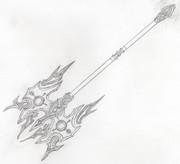 自作中二武器 紅蓮斧アグニ