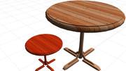 木製テーブル04