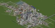 【Minecraft】史上最大級の現代都市を作る 開発状況 2015年7月