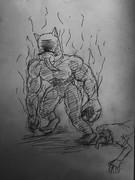 ゾンビ退治する太郎丸