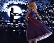 夜景とアリス