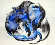 藍影翼のドラゴン