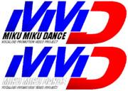 グランツーリスモみたいな「MikuMikuDance」のロゴを作ってみた。