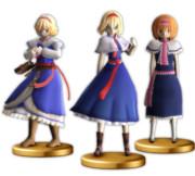 アリスのフィギュア.amiibo
