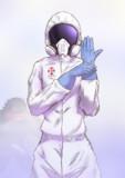 謎のガスマスクその2