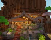 【Minecraft】切り株の宿屋