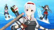 【MMDモデル配布】正規空母 翔鶴 Ver3【MMD艦これ】