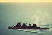 フランスのマイナー巡洋艦を練習でつくってみた。