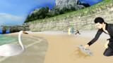 海の日なので浜辺でお遊び~大天使側