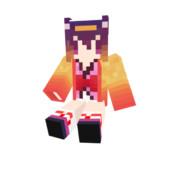 【Minecraft】ノゲラ いづなたん スキン