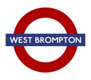 UNDERGROUND DistrictLine WEST BROMPTON