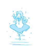 マリーが雪の女王