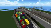 [minecraft]高速道路料金所とE5系
