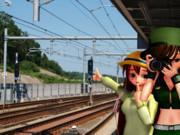 成田湯川駅にて(其の壱)