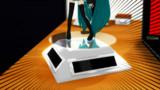 【第一回俺嫁フィギュア選手権】ソーラー電池で回るアレ【アクセサリ配布】
