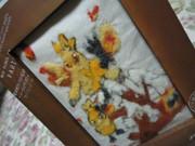 羊毛フェルト刺繍で作ってみた②