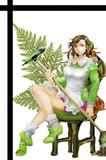 緑咲のお姉さん。