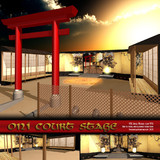 MMD Oni Court Stage