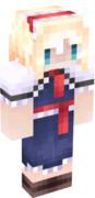 【Minecraft】 にがもん式風 アリススキン