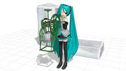 【MMDモデル配布】かき氷機【いちごミルクが好き】