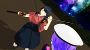 居酒屋鳳翔物語✕結月提督の日常「剣術勝負!」別アングルその2
