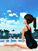 あっ、夏だ【MMD】