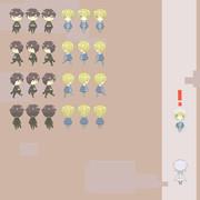 刀剣乱舞の二次創作ゲームつくってます。7