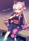 天津風と夏祭り