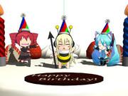 【配布】パーティー帽子【MMD】