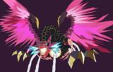 流星のロックマン3より、クリムゾンドラゴンを描いてみました。