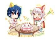 鶫ちゃん誕生日おめでとう!
