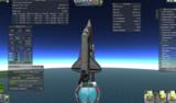 【KSP】マトモに宇宙に行けるスペースシャトル完成