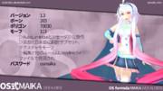 【MMD】OS式MAIKA【モデル配布】