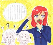 真姫ちゃんがトマトについて熱く語っています