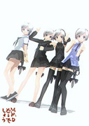 【MMD】四人で!!!!【雪歌ユフ】