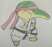ヒノアラシ(リュウ衣装)