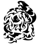 タトゥー画 モジャンボ