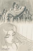 パンドラ - 双子座のサガ - 山羊座のシュラ - 水瓶座のカミュ 聖闘士星矢 冥王ハーデス編