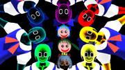 7色の妖精たち