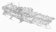 改型宇宙装甲航空母艦ミッドウェイ「自作艦」