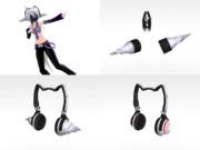 猫耳ヘッドセットSP2(もう遊んでます♪)。