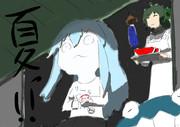 私が描いたヲ級の夏