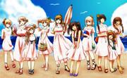 【手描きAPヘタリア】皆で海へ!【女子フェス】
