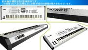 【MMD】【配布】MOTIF XF8のような88鍵シンセ筐体