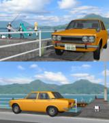 【MMD】日産 ブルーバード 510型【モデル配布】