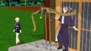 【へし切ストラさんお迎え記念】ストラさんの壁ドン