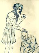 太郎丸と圭の出会い