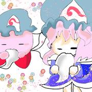 ピンクの悪魔 カービィ×幽々子様