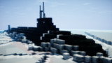 【Minecraft】氷海の狼
